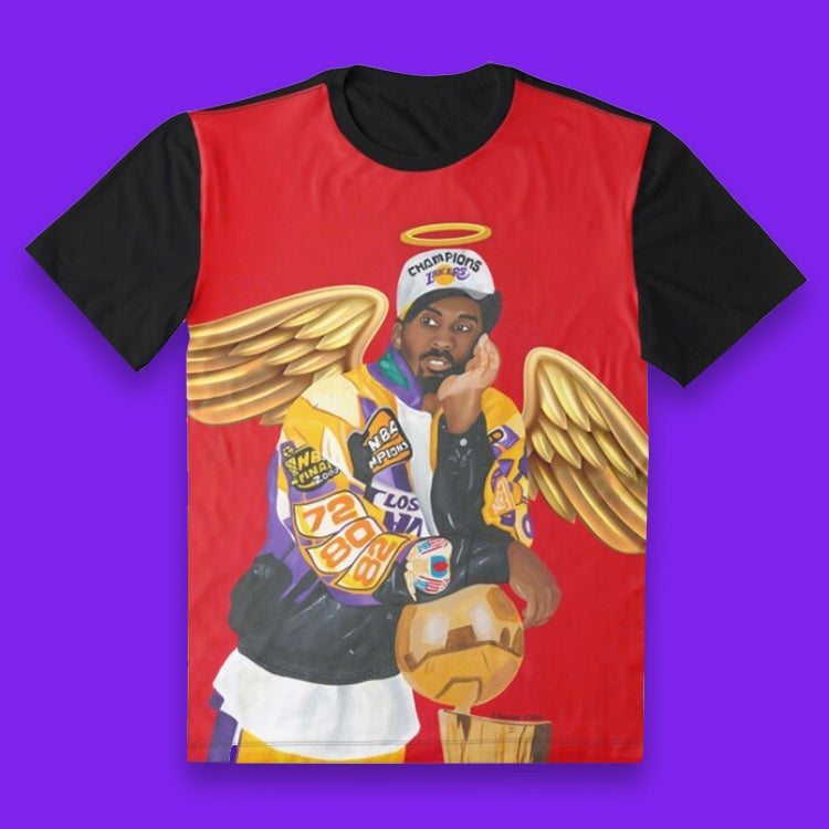 Image of Mamba Out (All Over Print Tee)