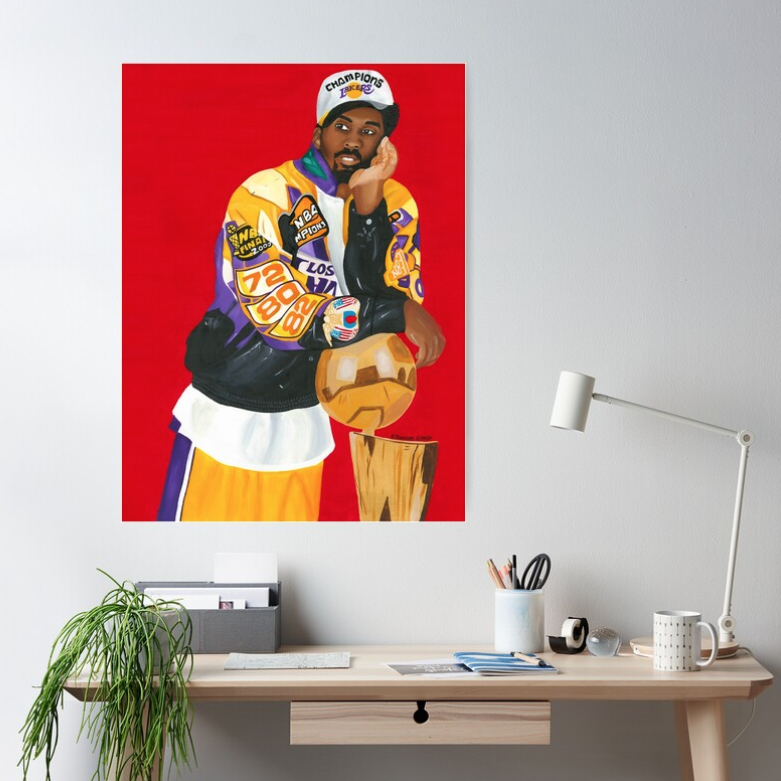Image of Mamba Out (Poster Prints & Original Painting)