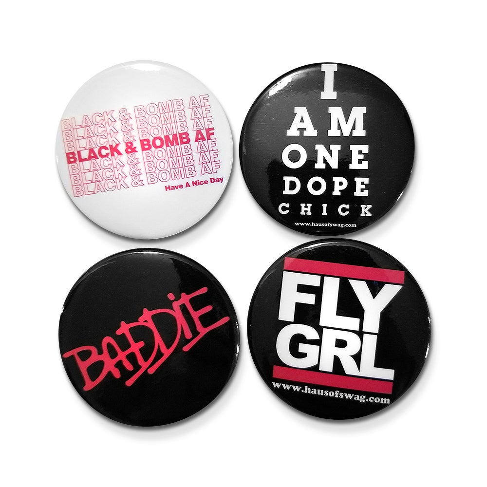 Image of The Self-Love Button Pack