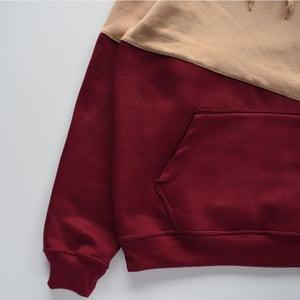 Image of Fall Color Block Hoodie