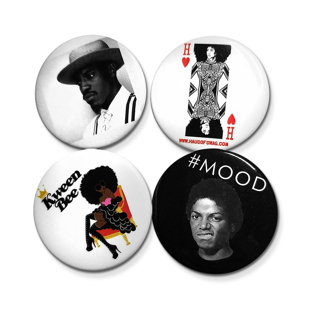 Image of The King & Kween Button Pack
