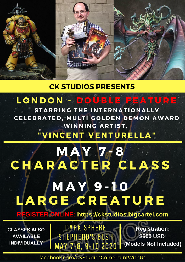 Image of LONDON Double Feature, May 2020 with Vincent Venturella
