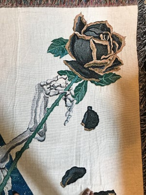 Image of Panthers of The Black Rose woven blanket PREORDER
