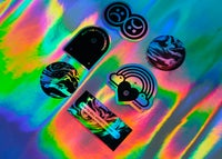 Image of RETROGRADE STICKERS PACK