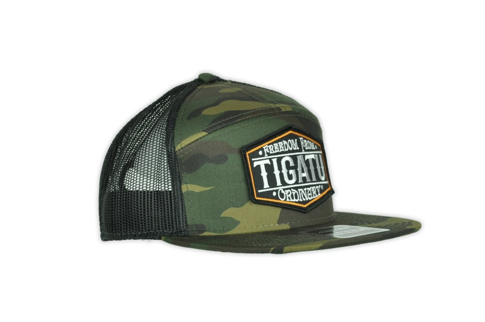 Image of Freedom Flat Bill Snapback - Camo