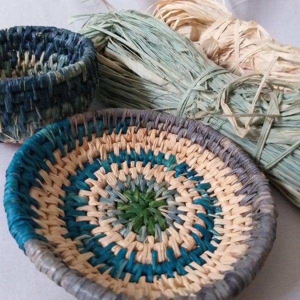 Image of Coiled Basketry Workshop Saturday August 29, 2020 10am to 3:30pm at Finite Gallery , Caves Beach NSW