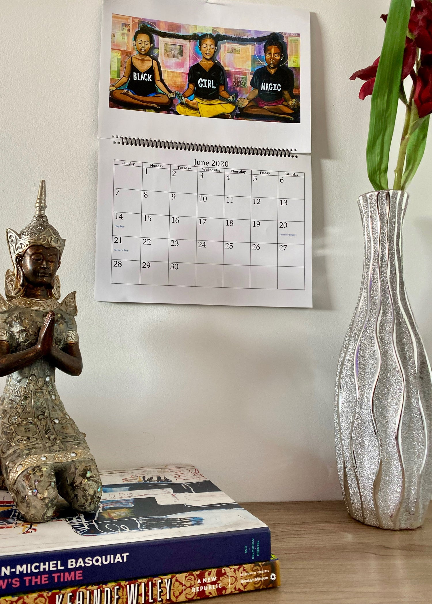 "Image of ""Madam Muse Meditation Calendar"""