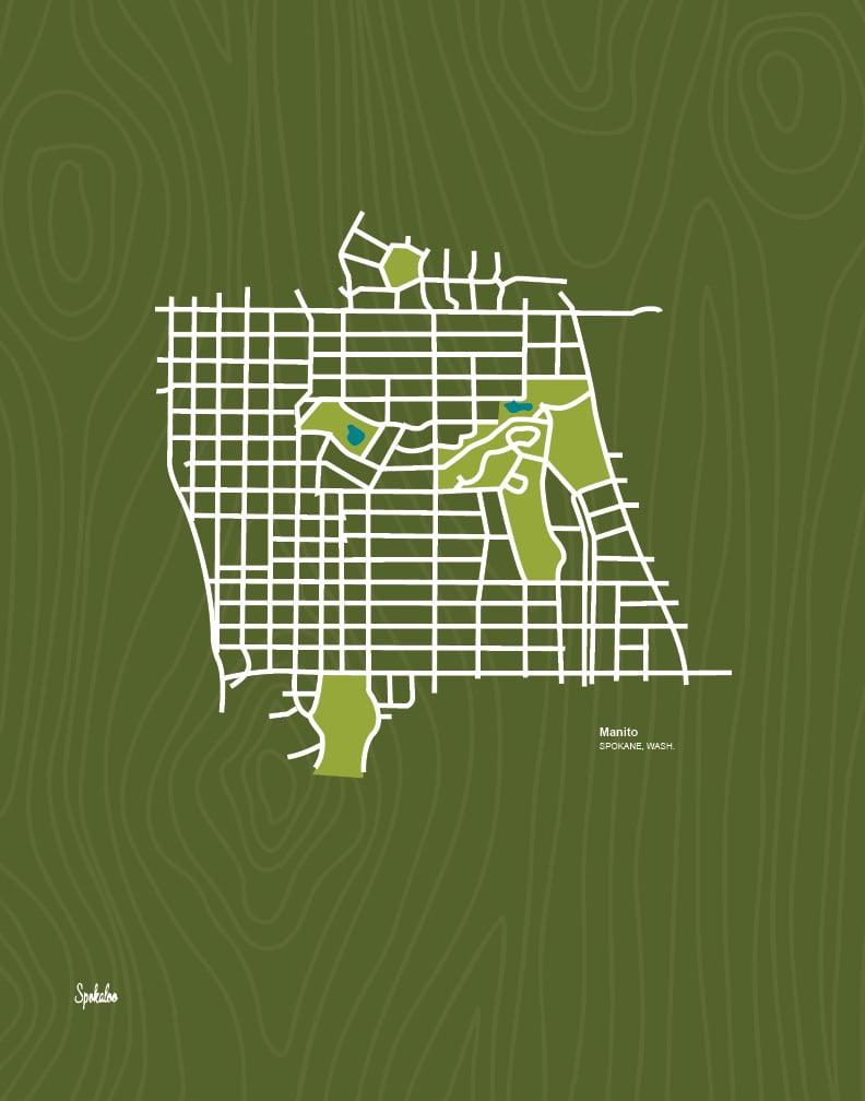 Manito Park, Spokane, WA