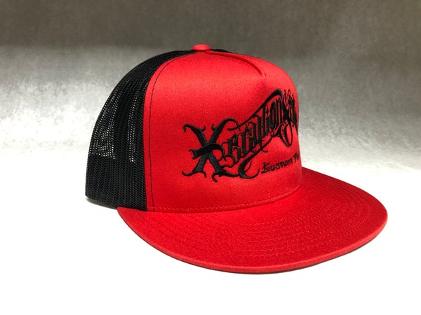 Image of XecutionStyle logo snapback trucker  hat