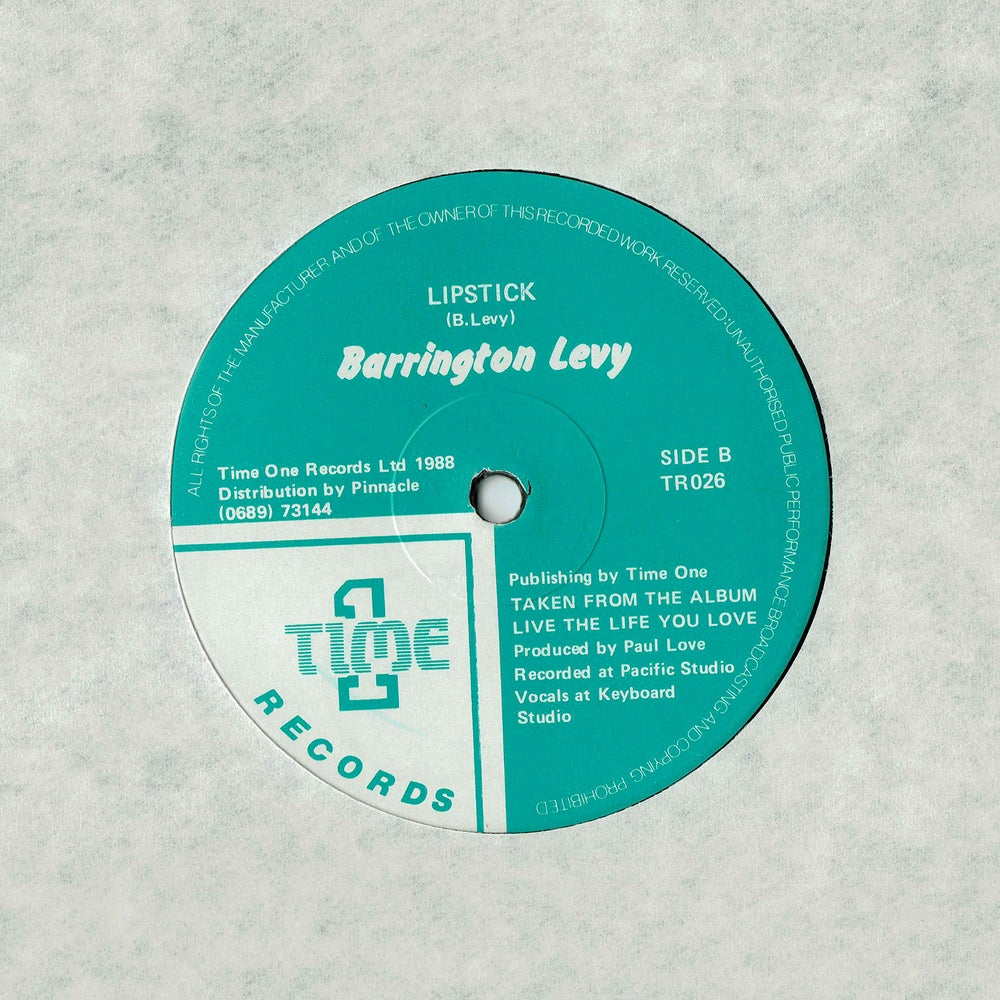 """Image of Barrington Levy - Lipstick 12"""" (SOLD OUT)"""