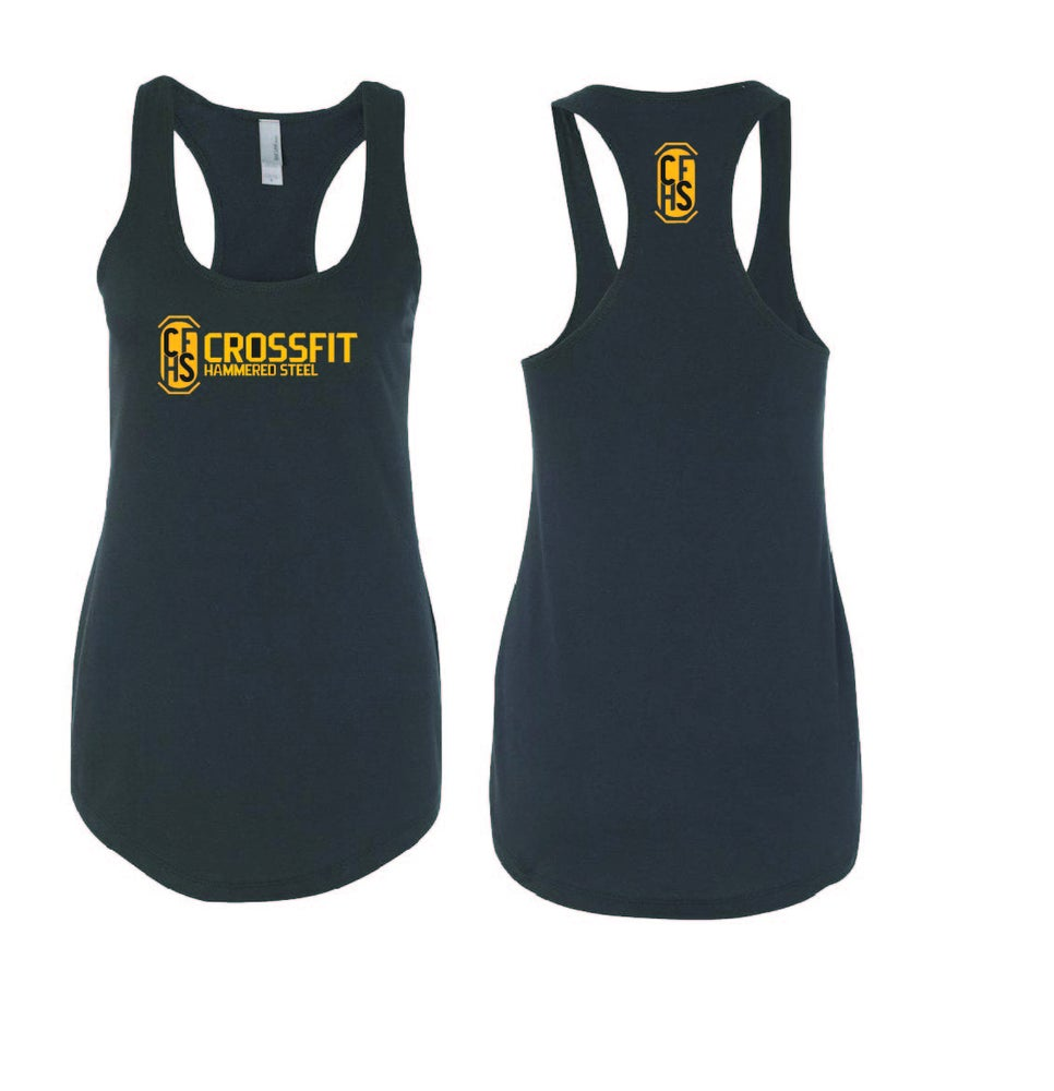 Image of CFHS Logo Racerback  Tank Top - Multiple Colors