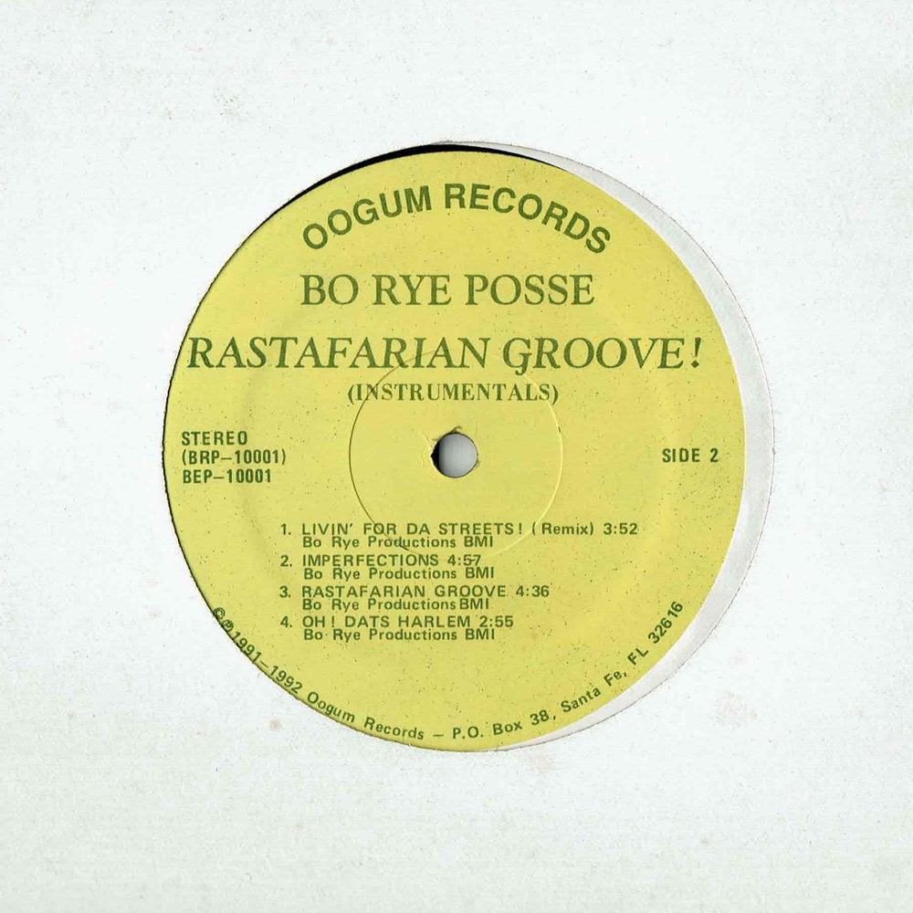 Image of Bo Rye Posse - Rastafarian Groove! (SOLD OUT)