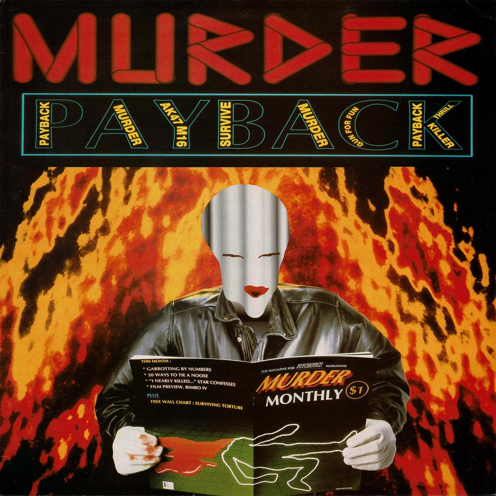 Image of Murder - Payback LP