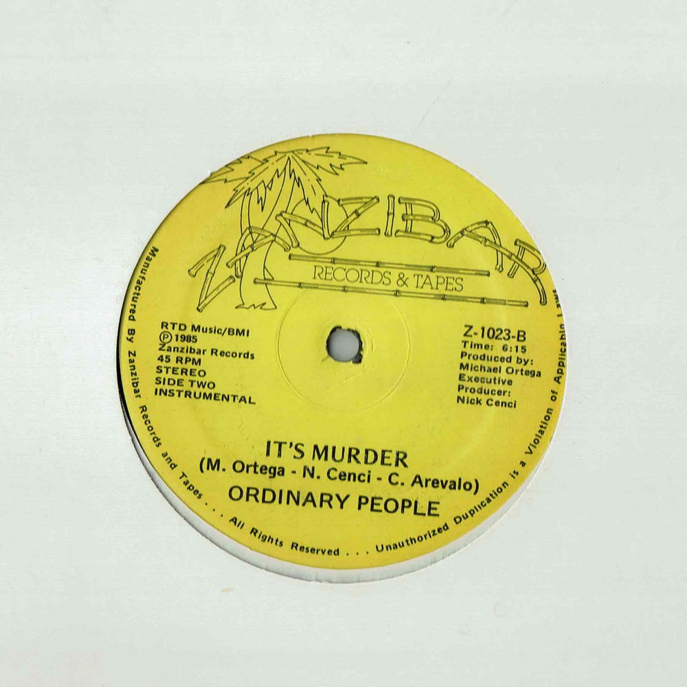 Image of Ordinary People - It's Murder