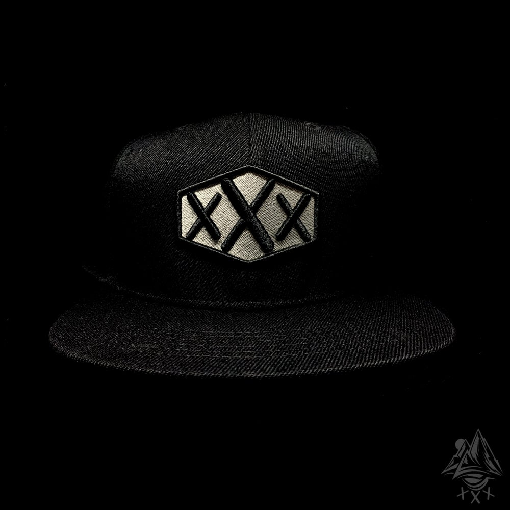 Image of Grey/Black SnapBack