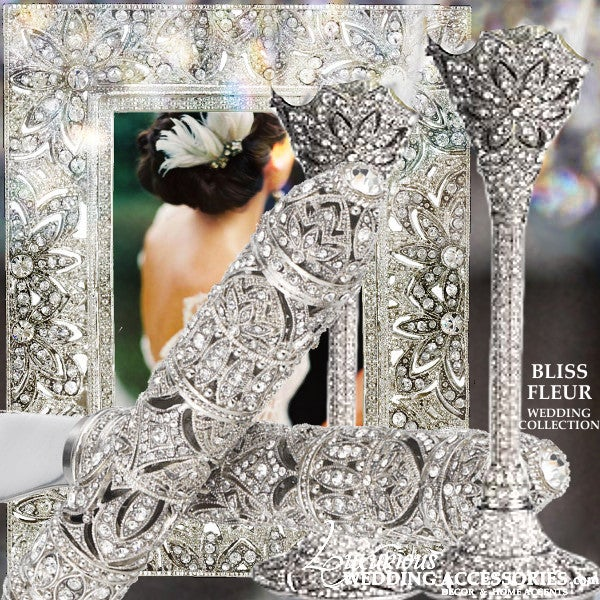 Image of Bliss Fleur Silver Wedding Collection
