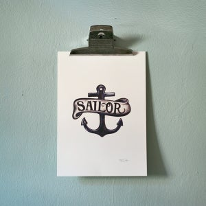 Image of Print Sailor Emblem