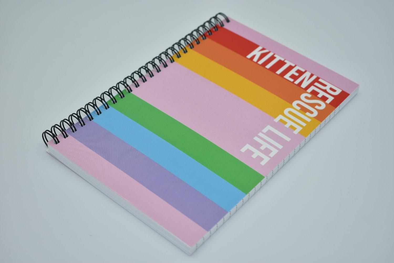 Image of Rainbow Notebook