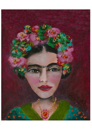 """Image of """"Paint Frida Your Way"""" with ARTIST : Sharon Peterkin"""