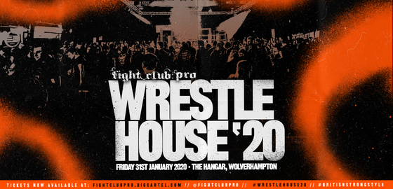 Image of WRESTLEHOUSE '20 (DVD)