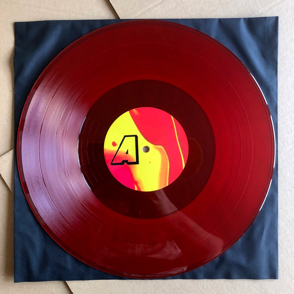 OZO 'Saturn' Red Vinyl LP