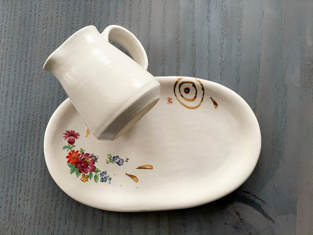 Image of Lovely Little Pitcher and Plate combo