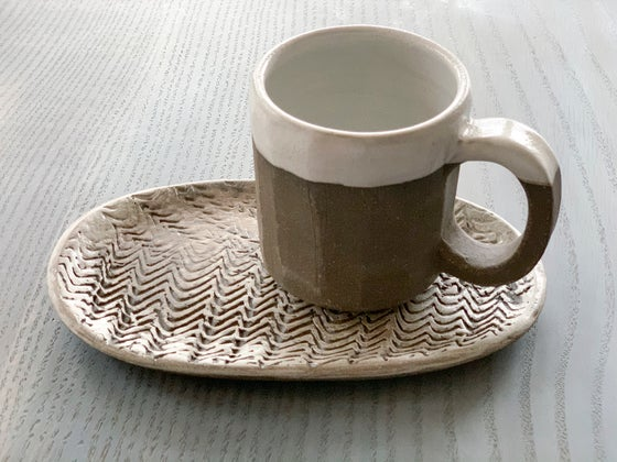 Image of Cup and Cookie Plate Set 3