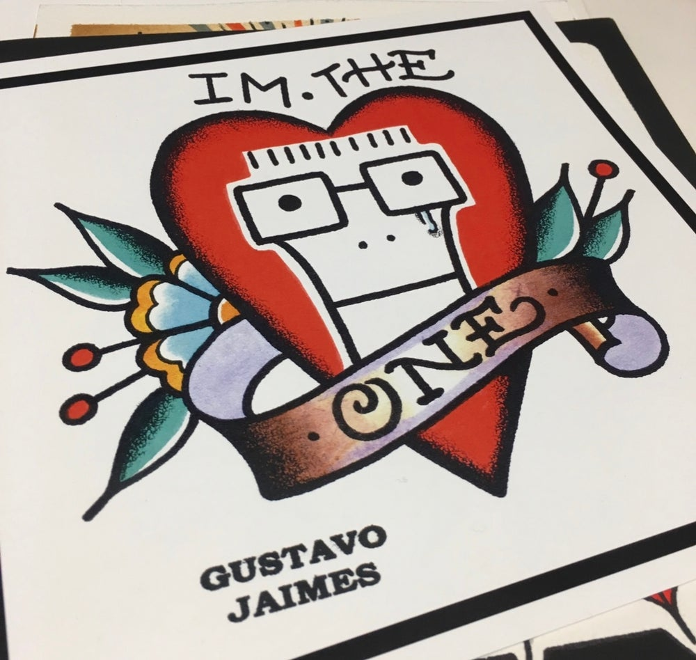 Image of I'm the one 8x8 inch print