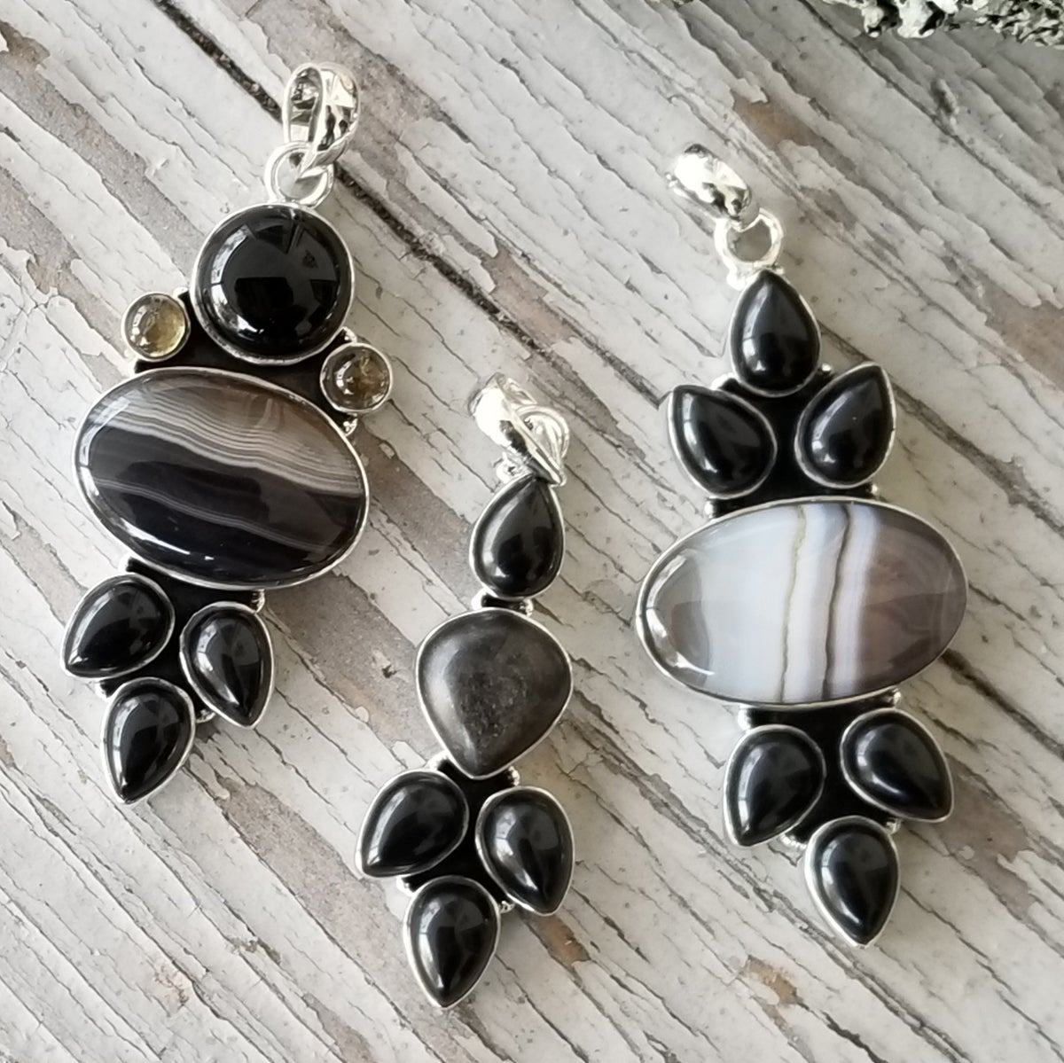 Image of Hazel Creek Collection Pendants in Sterling