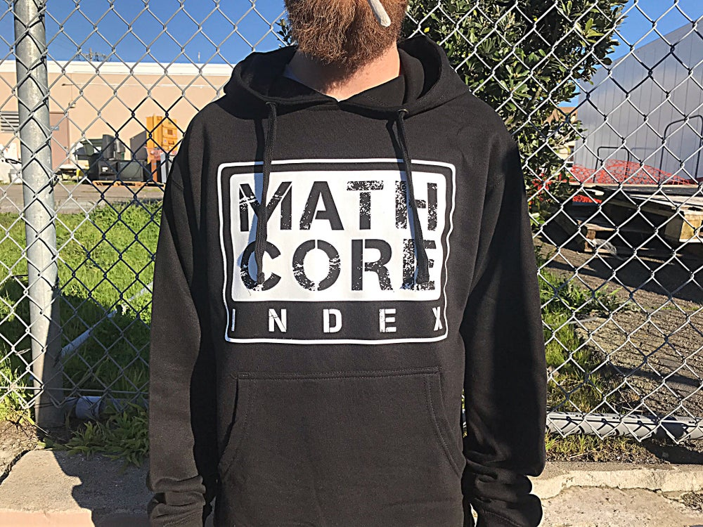 Image of OG logo hoodie (black)