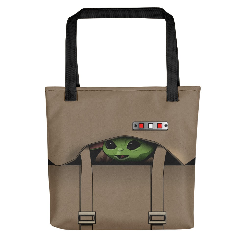 Image of Baby Yoda Inspired Tote Bag