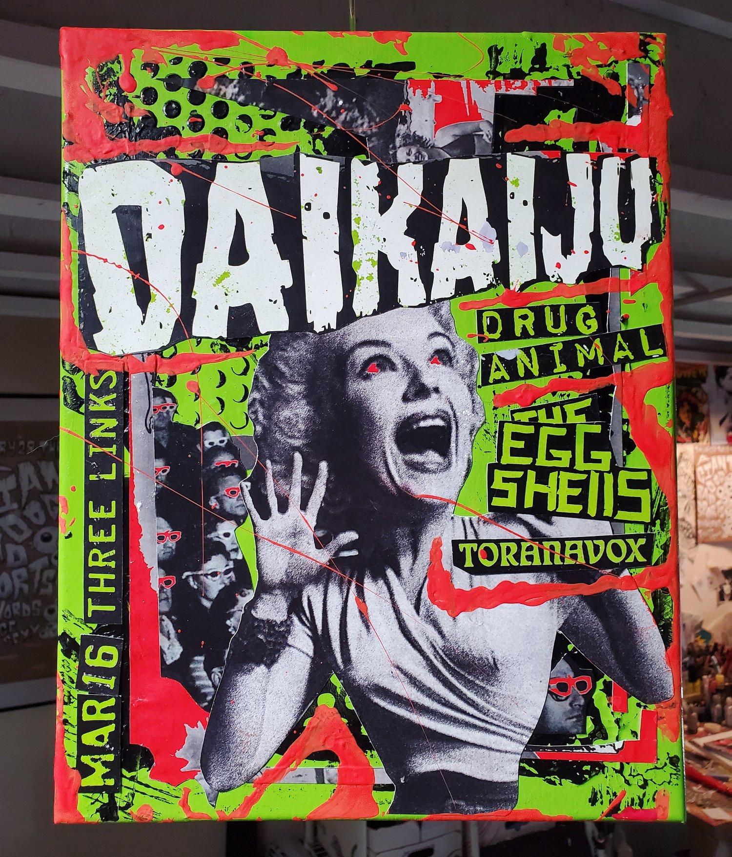 Daikaiju 2017 (11x14 canvas)