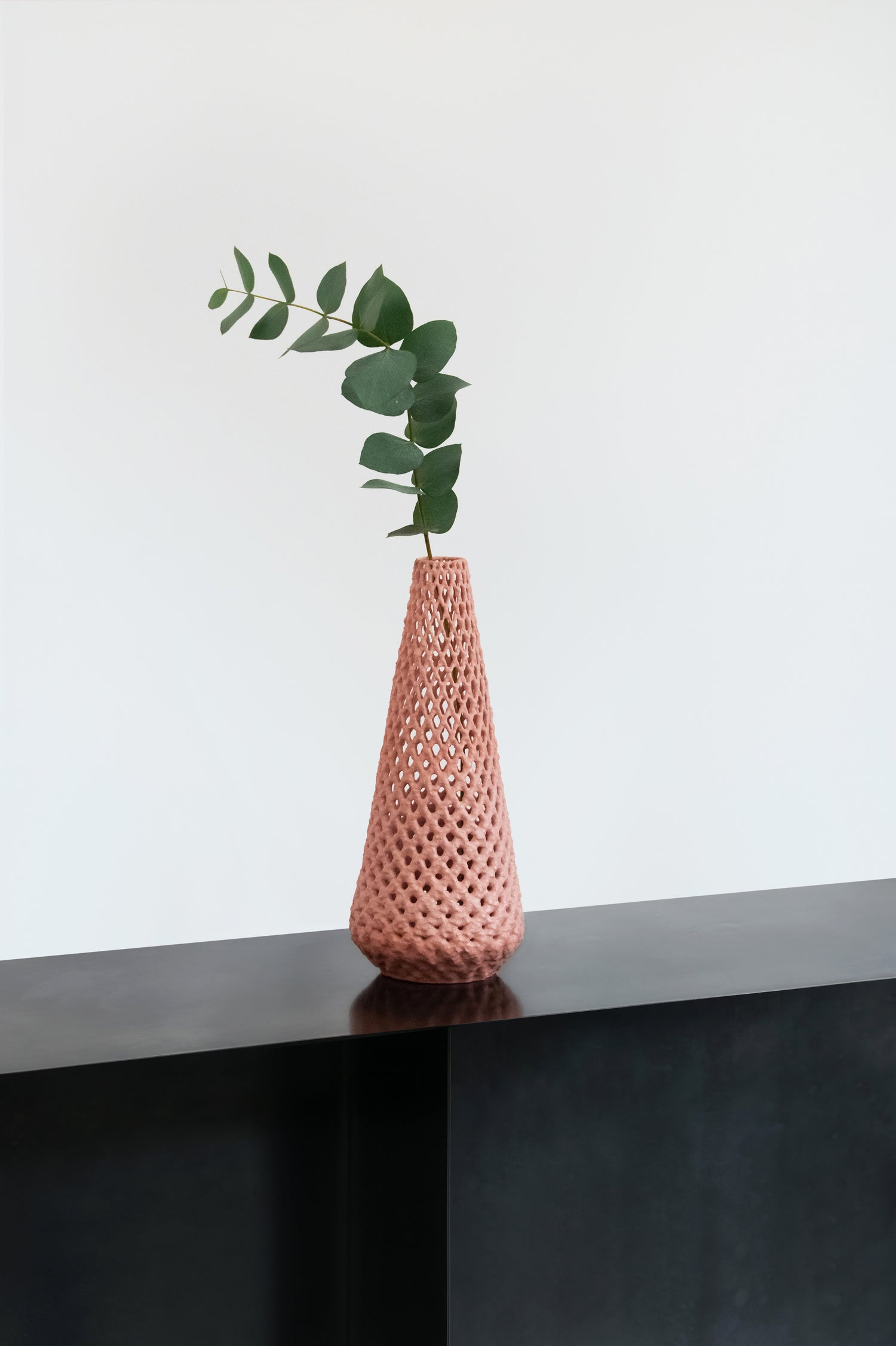 Image of Marblelous vase - medium - pink