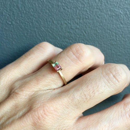 Image of Indian Summer Ring Bicolour Tourmaline One of a Kind