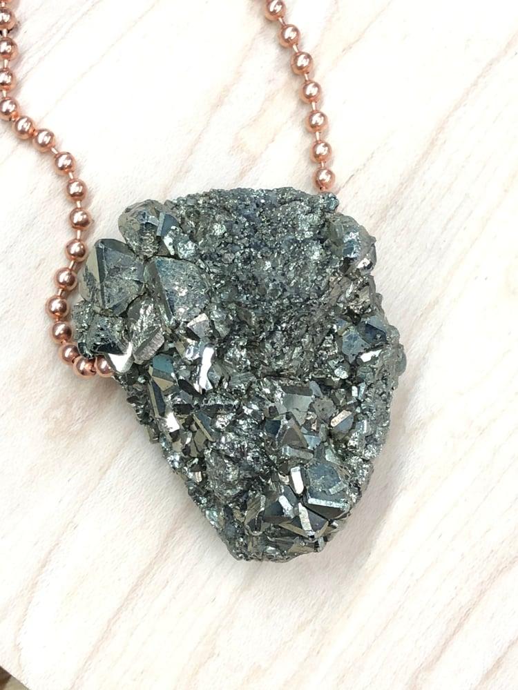 Image of Plain Jane Peruvian Pyrite Necklace