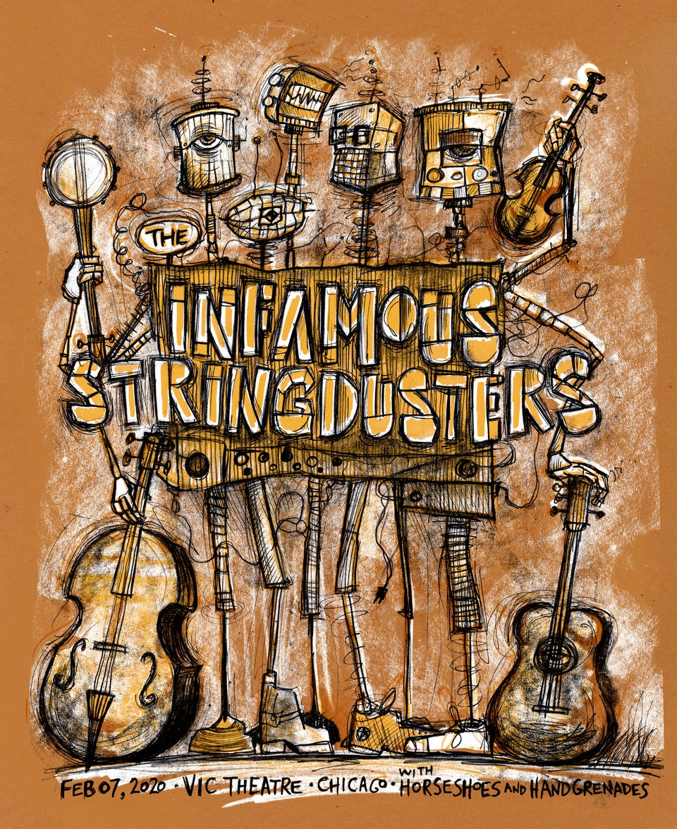 Infamous Stringdusters Vic Theatre