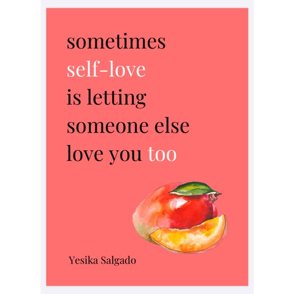Image of Self-Love Poster - preorder