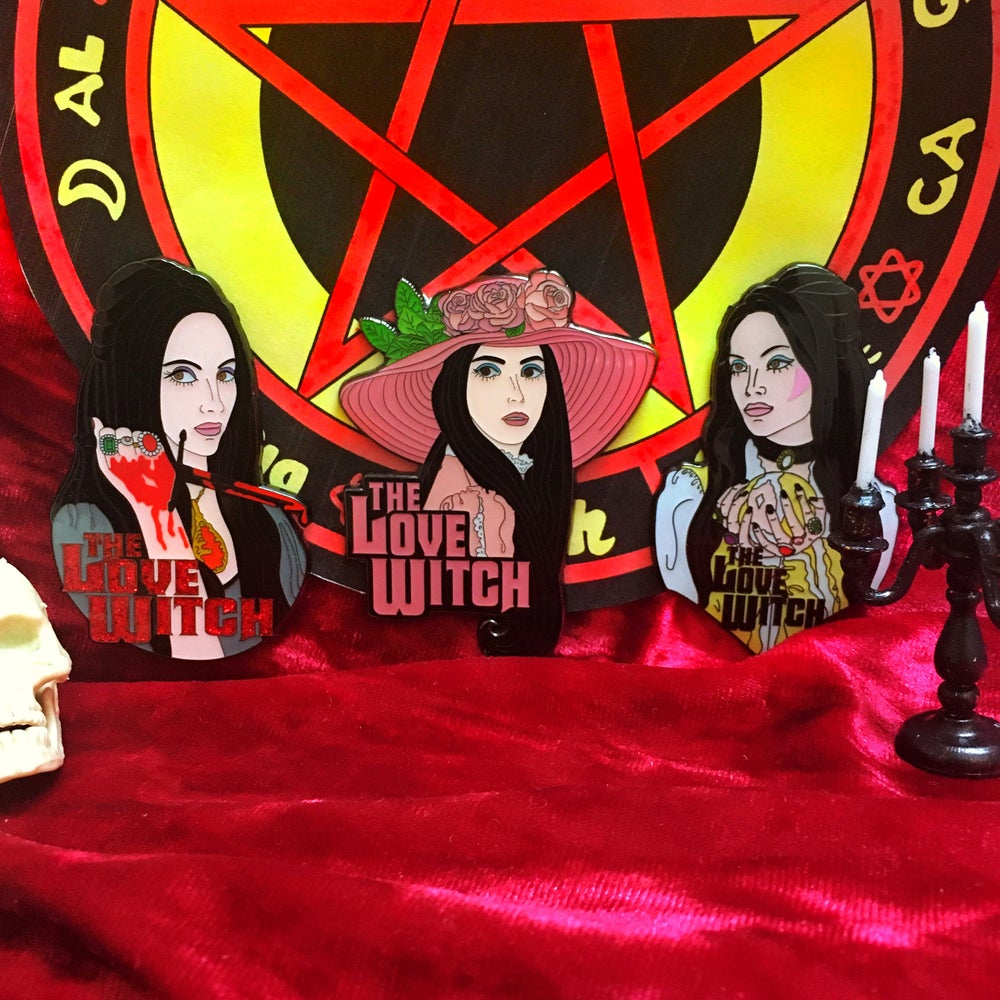 Image of The Love Witch Official Pins