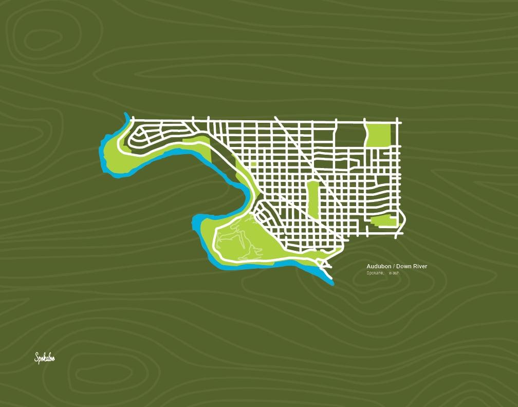 Audubon Neighborhood, Spokane, WA