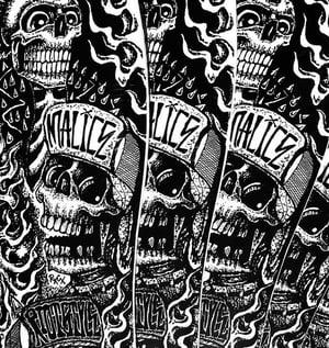 Image of Riot Style x Ric Clayton Cyco Fatboy Pool Skate Deck