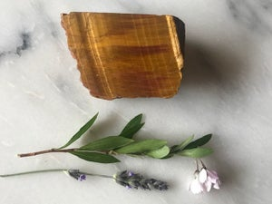 Tiger's Eye - Bookend Piece