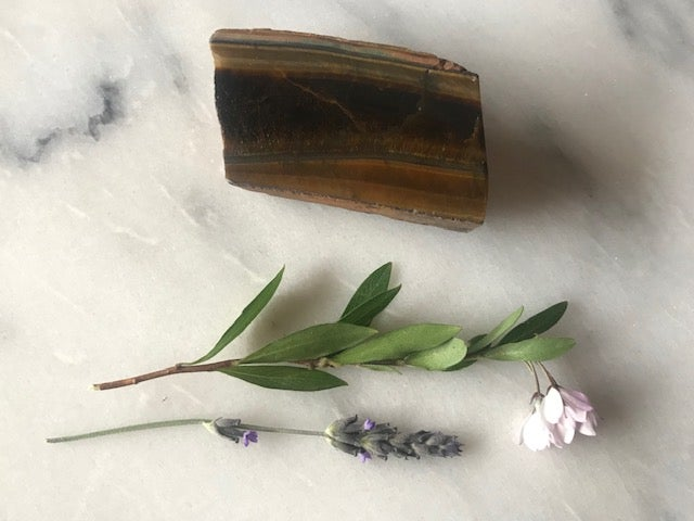 Image of Tiger's Eye - Bookend Piece 2