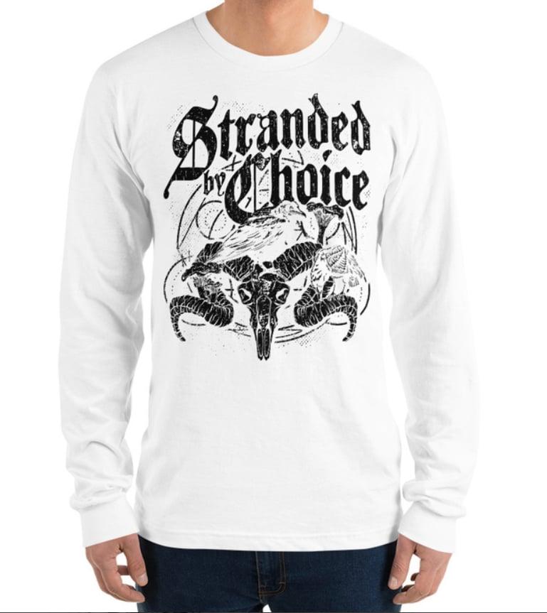 Raven Design Long Sleeve Unisex Shirt