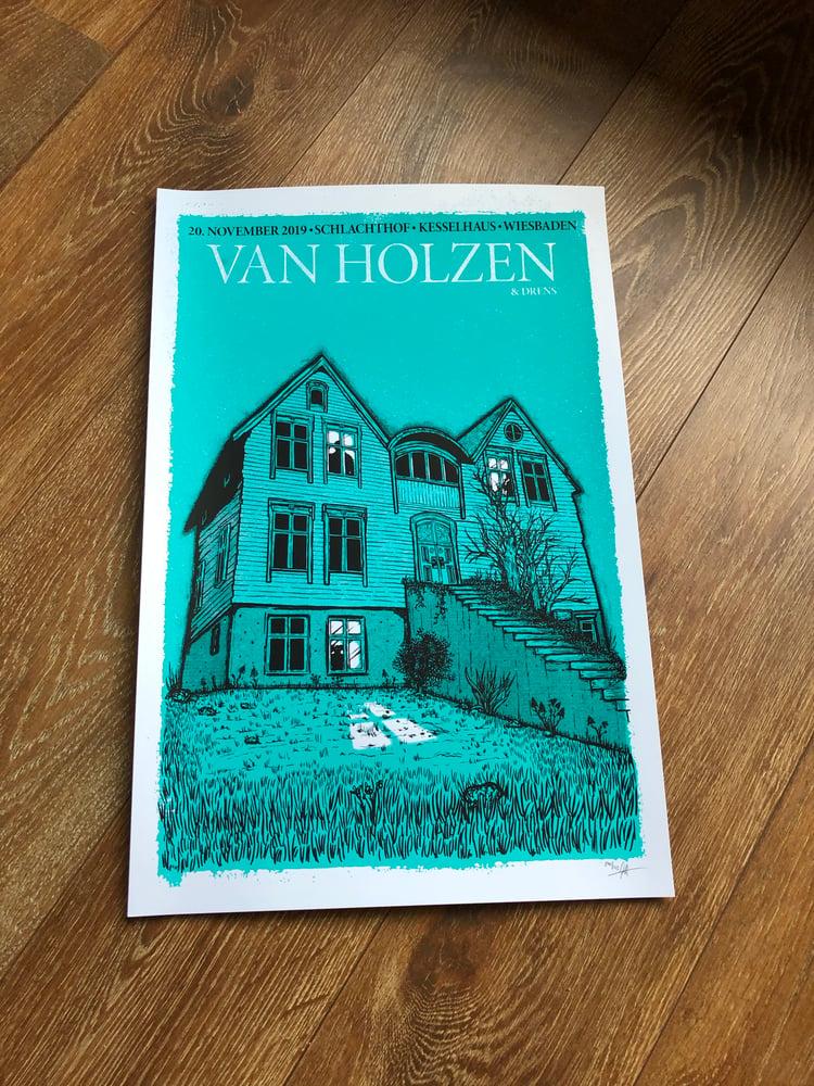 Image of Van Holzen Poster Wiesbaden 2019