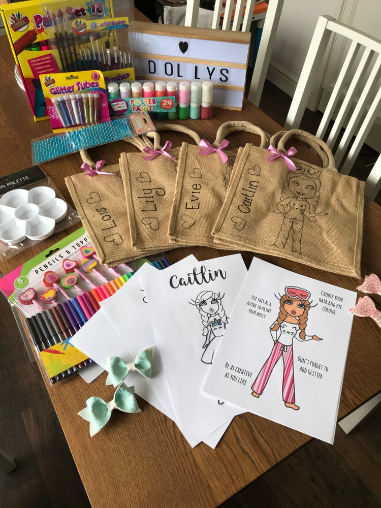 Image of Bag Painting Party Pack