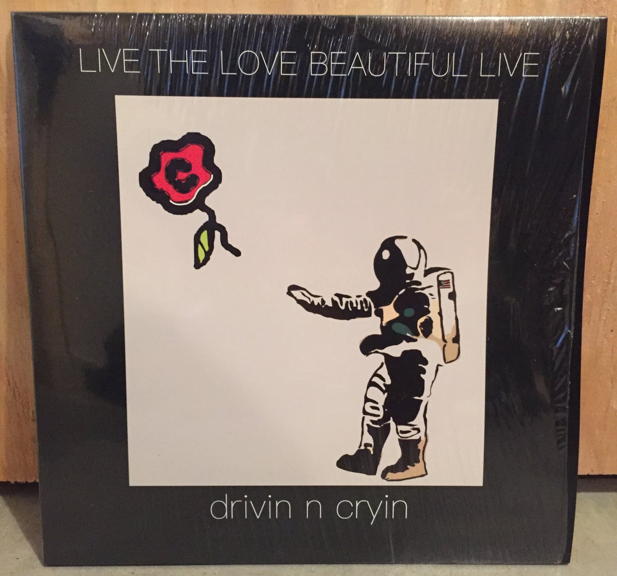 Image of Live The Love Beautiful Live (Black Vinyl)