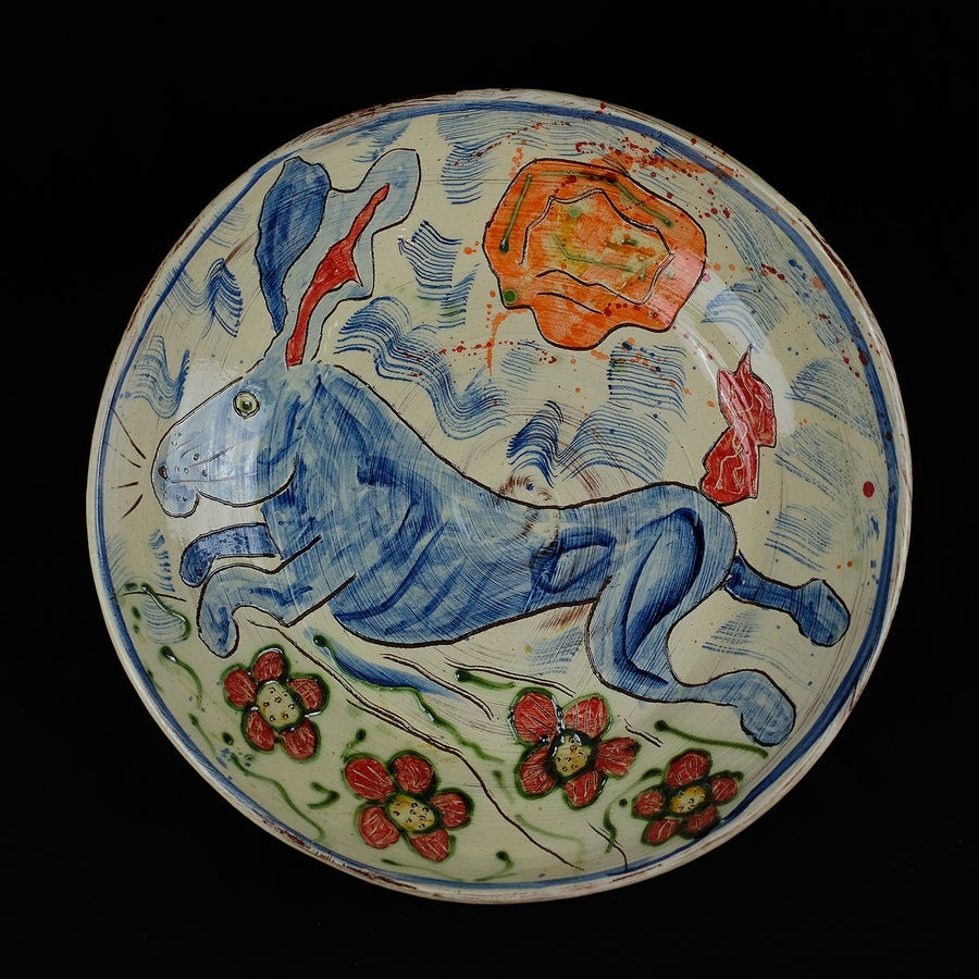Image of BEN FOSKER - LARGE HARE PLATE/DISH