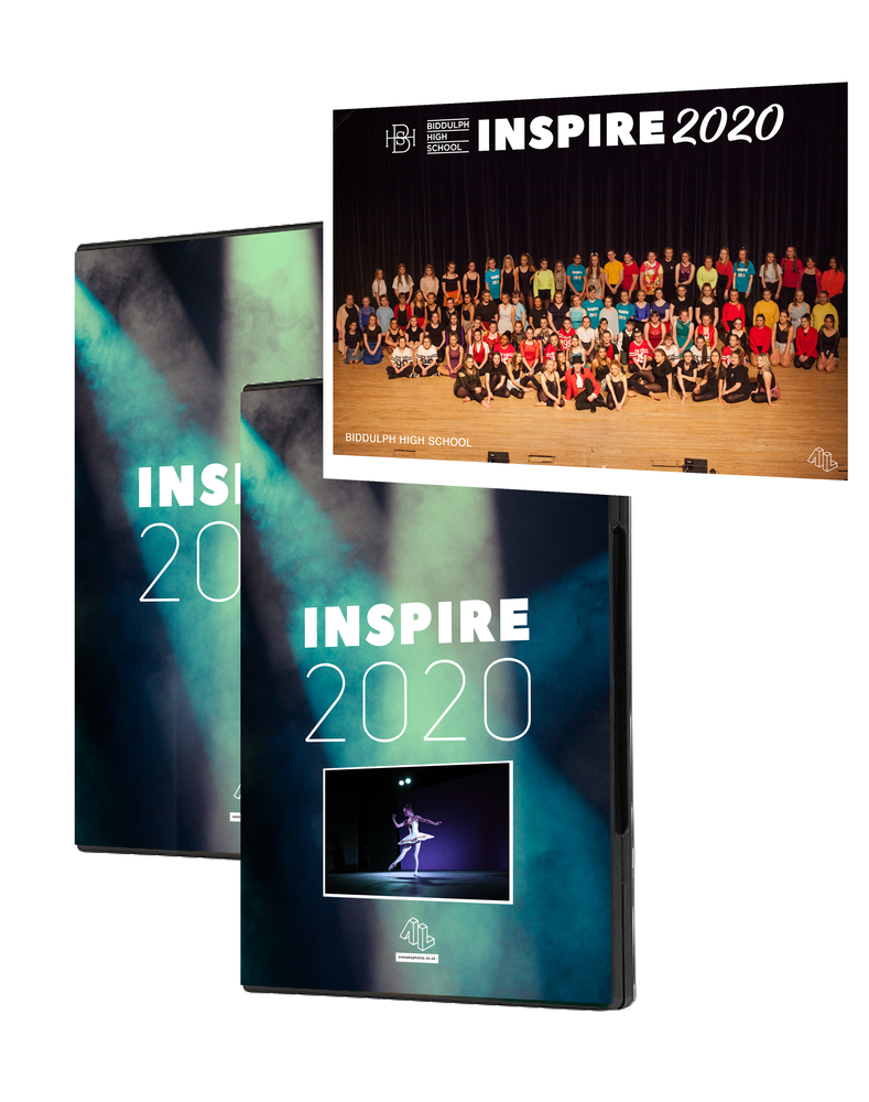 Image of Inspire 2020 Collection DVD/Photographs/Group Print