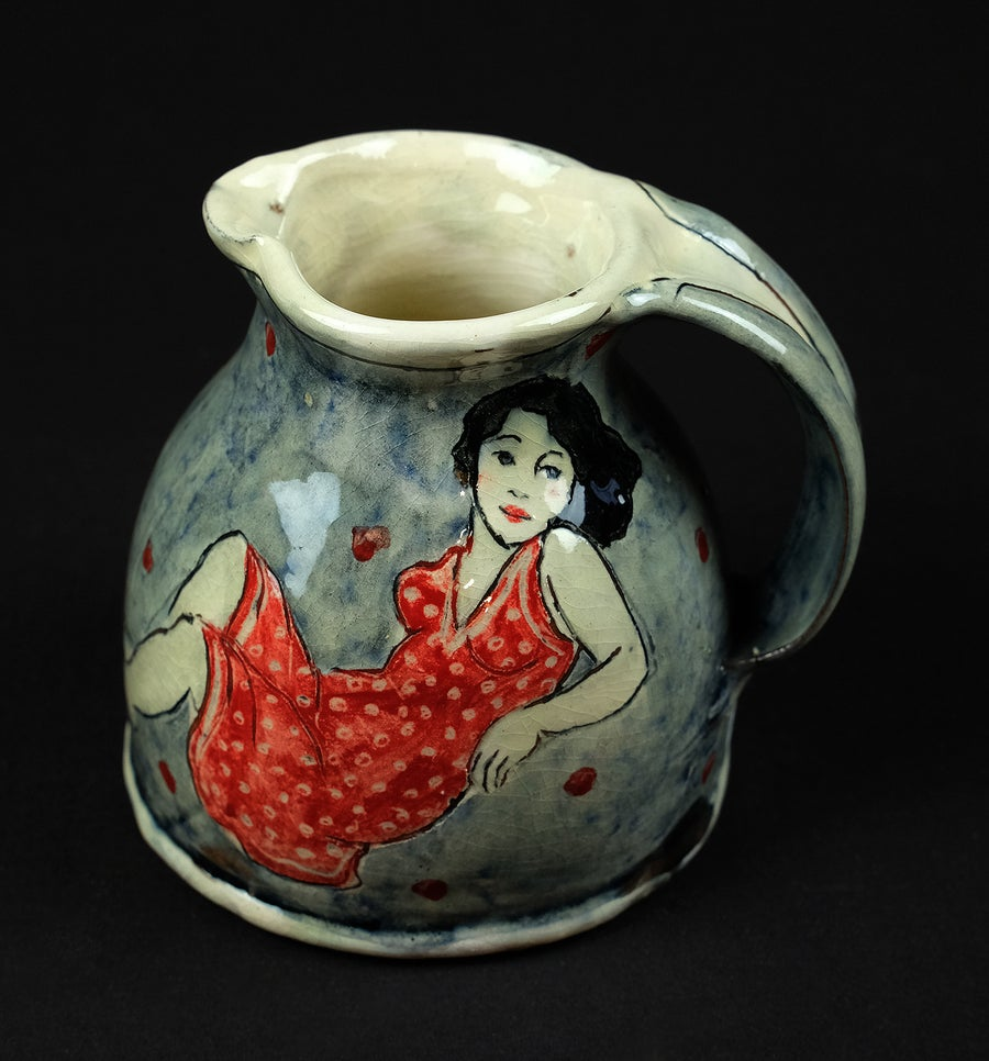 Image of LOUISE GARDELLE CERAMIC JUG
