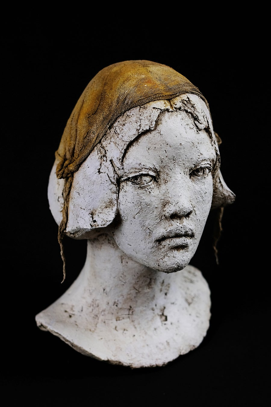 Image of ELIZABETH DUPIN - SJOSREDT 'GOREE' - UNIQUE CERAMIC SCULPTURE